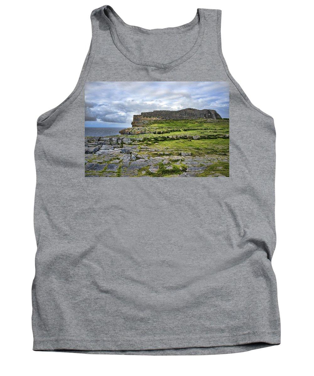 Dun Aonghus Tank Top featuring the photograph Dun Aonghus by Hugh Smith