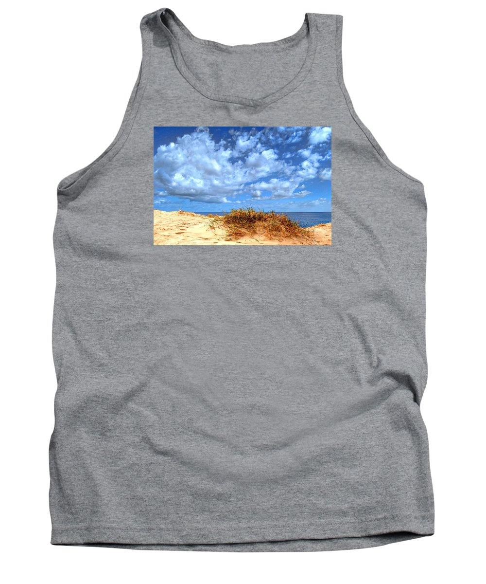 Clouds Tank Top featuring the photograph Dune Cloud 1 by John Lynch