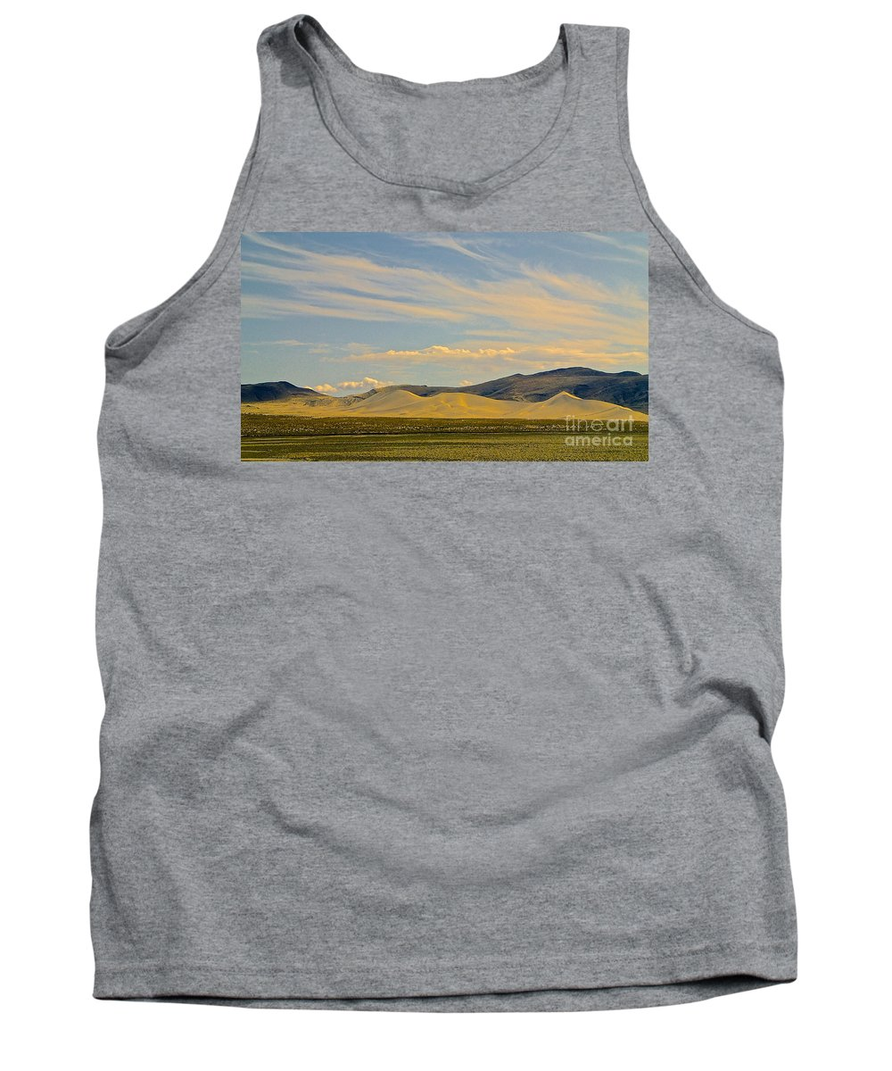 Tank Top featuring the photograph Dunes In Nevada by Cheryl Cutler