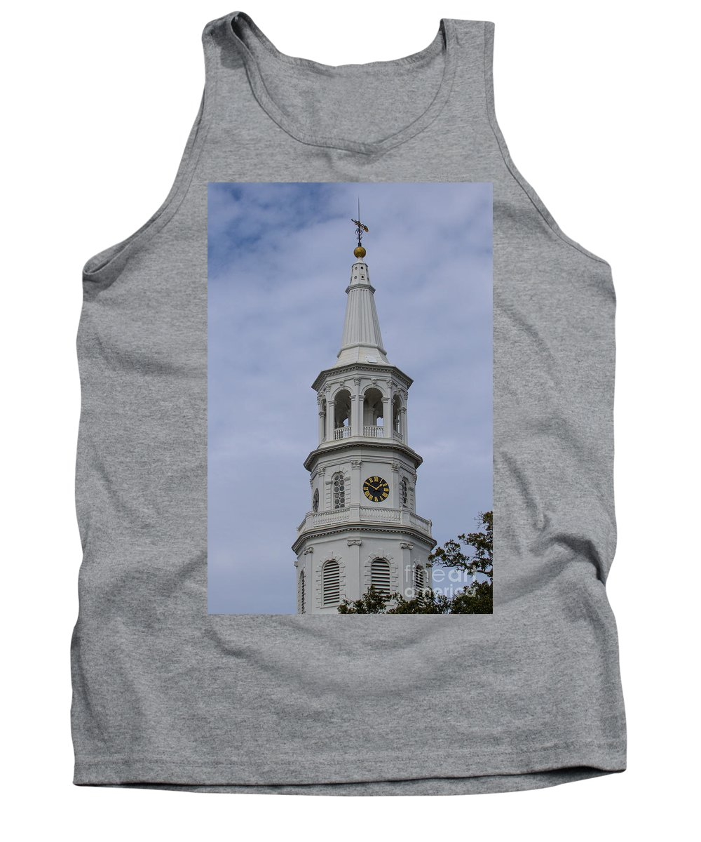 St. Michael's Church Tank Top featuring the photograph Ecclesiastical Law by Dale Powell