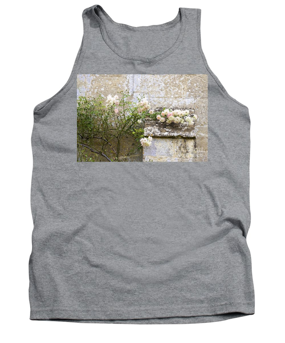 Floral Tank Top featuring the photograph English Roses I by Margie Hurwich