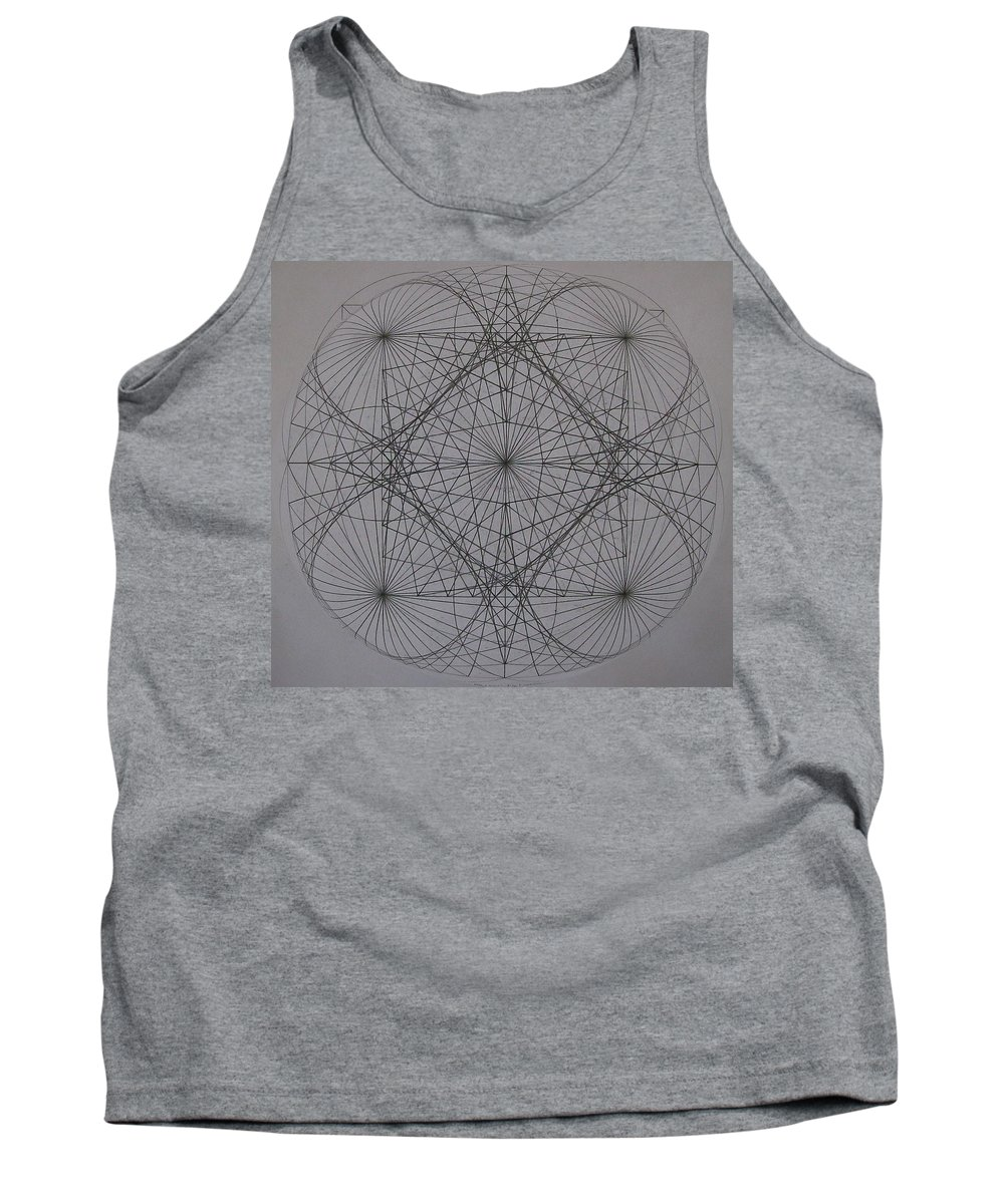 Event Horizon Tank Top featuring the digital art Event Horizon by Jason Padgett
