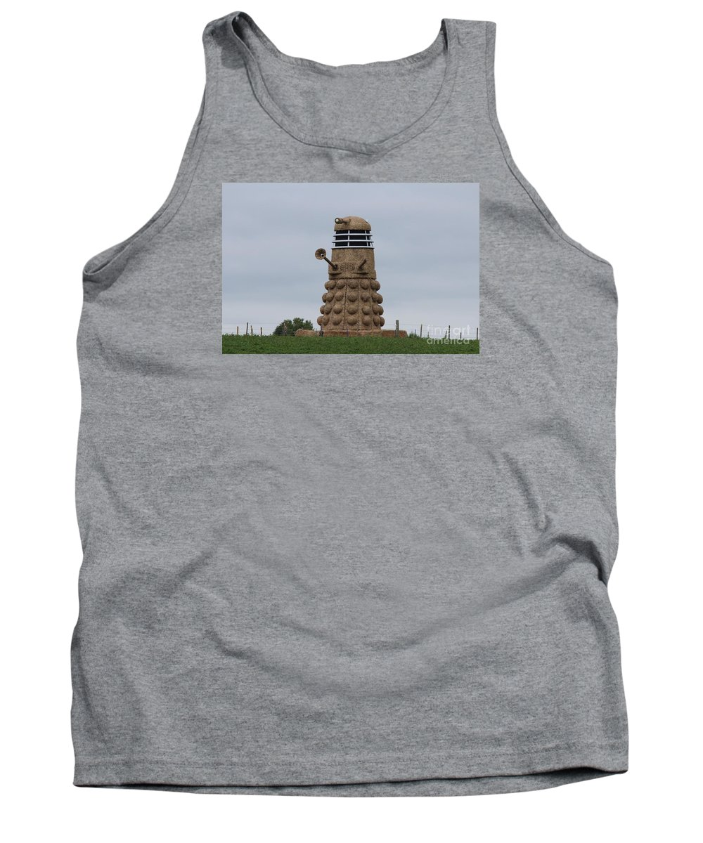Dalek Tank Top featuring the photograph Exterminate by Robert Phelan