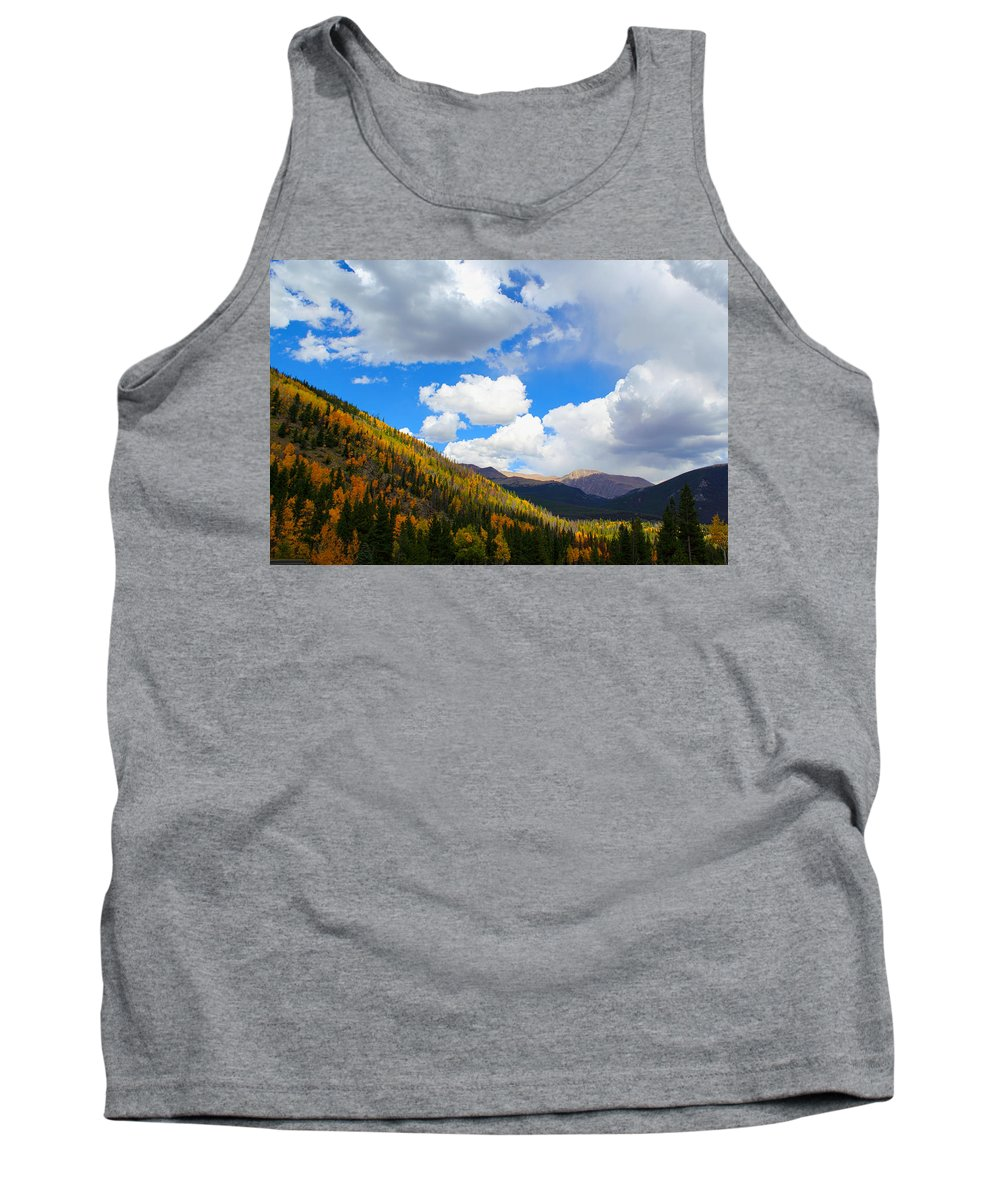 Rocky Mountains Tank Top featuring the photograph Fall In The Rockies by Shane Bechler