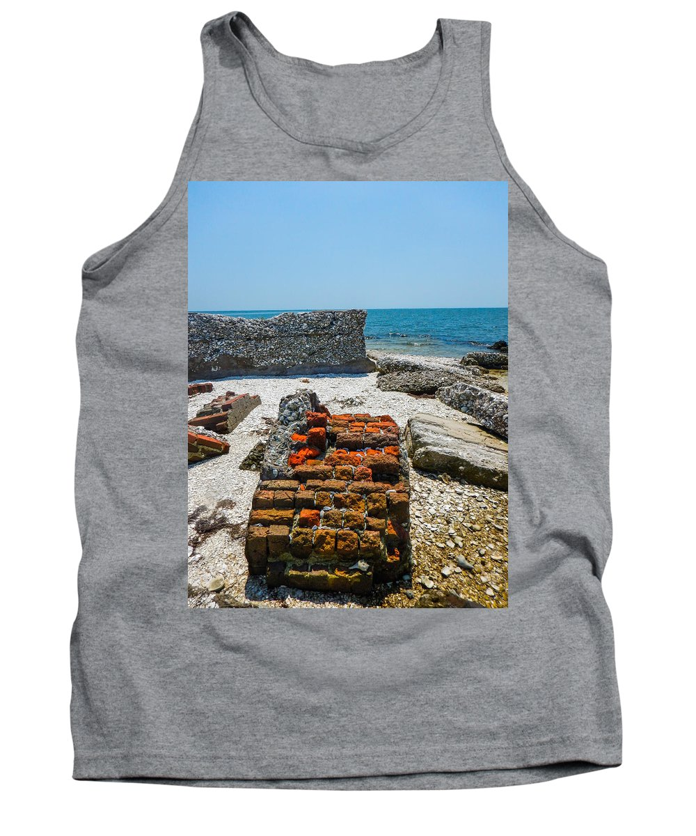 Core Sound Tank Top featuring the photograph Fallen by Paula OMalley