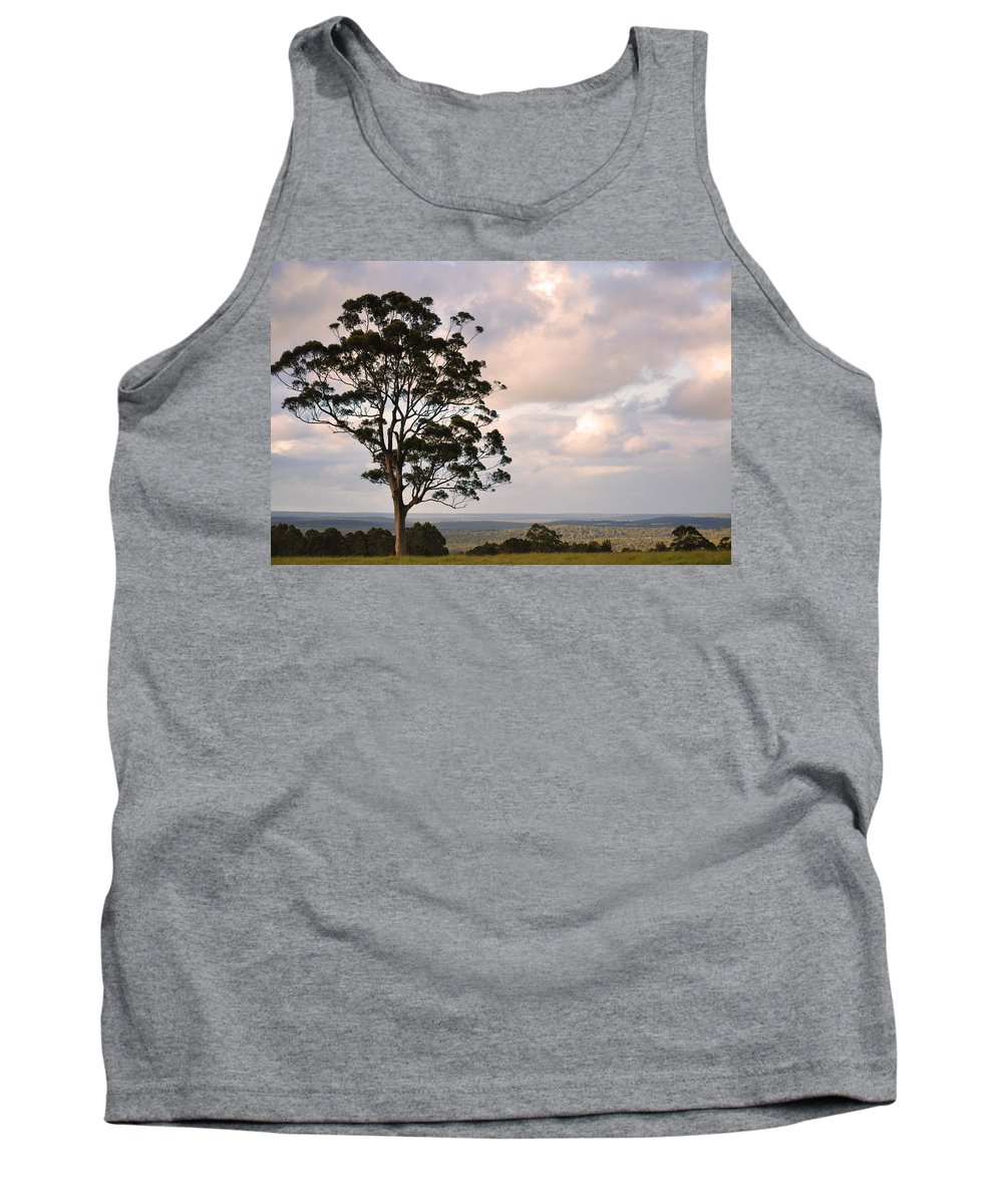 Farm Tank Top featuring the photograph Farmland Sunset by Phill Petrovic