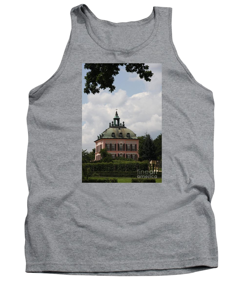 Palace Tank Top featuring the photograph Fasanen Schloesschen Germany  Pheasant Palace by Christiane Schulze Art And Photography