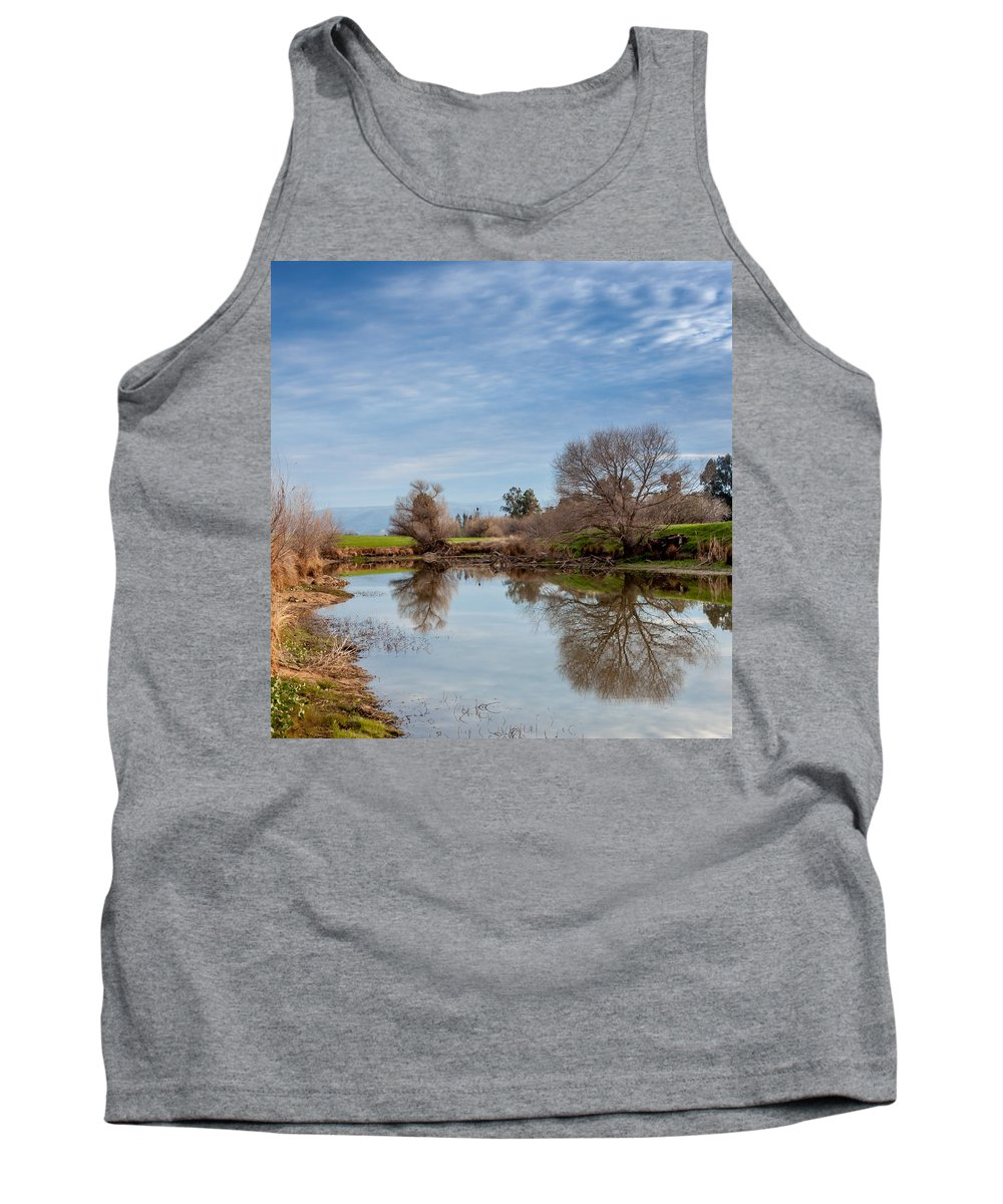 Water Tank Top featuring the photograph Fishng Hole by David Barile