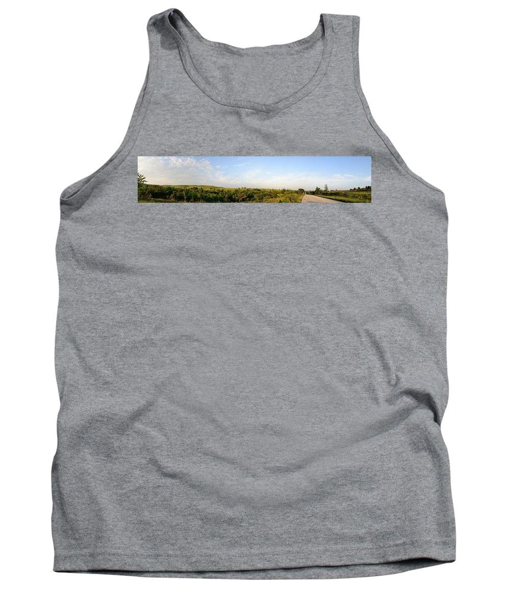 Brian Duram Tank Top featuring the photograph Flint Hills 2 by Brian Duram