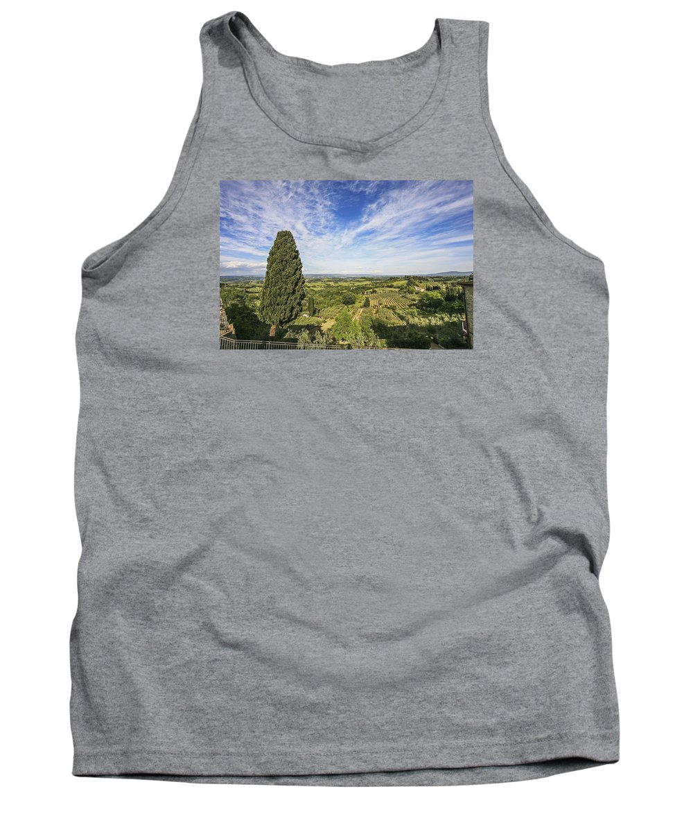 Italy 2014 Tank Top featuring the photograph Florence Views by Eric Swan