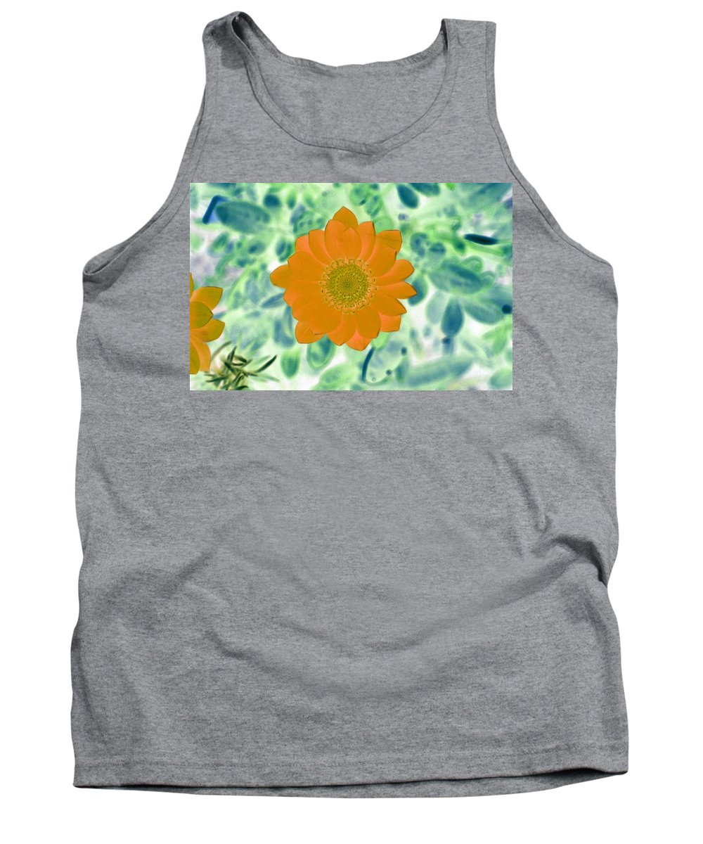 Flower Tank Top featuring the photograph Flower Power 1433 by Pamela Critchlow