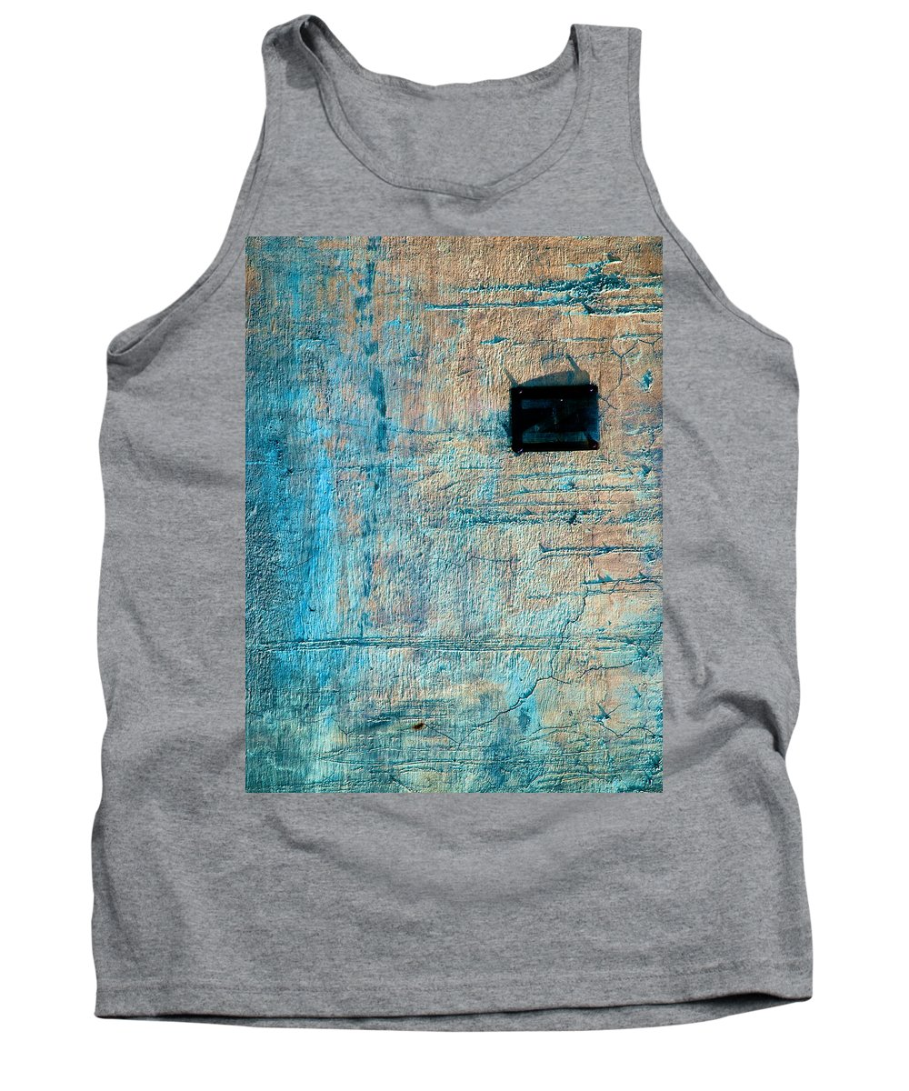 Industrial Tank Top featuring the photograph Foundation Eight by Bob Orsillo