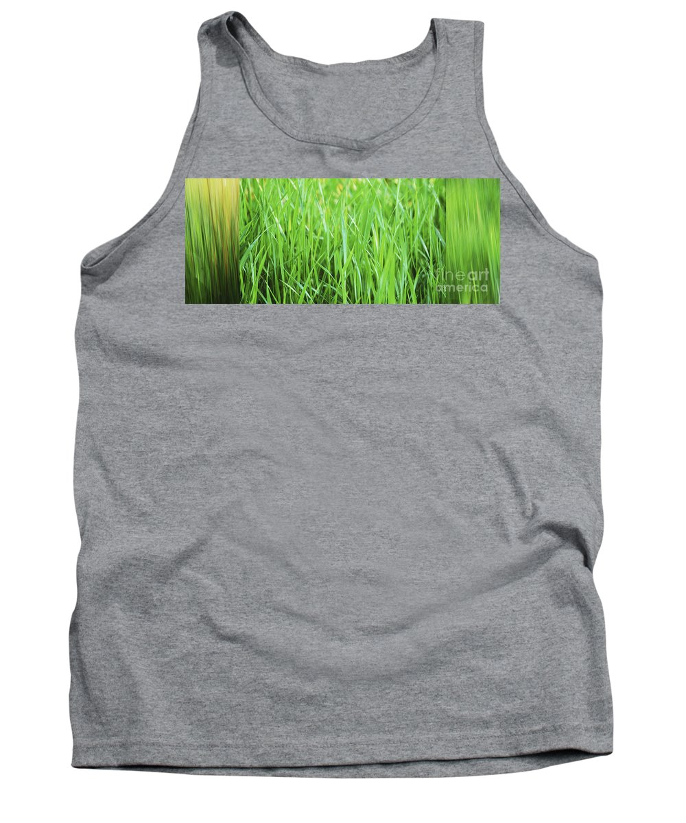 Grass Tank Top featuring the photograph Fresh Grass by Sabine Jacobs