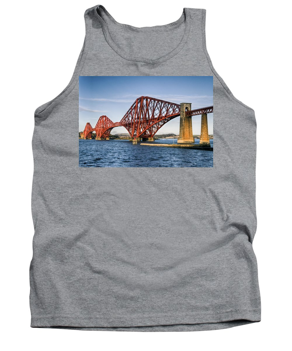 Forth Tank Top featuring the photograph Freshly Painted by Ross G Strachan