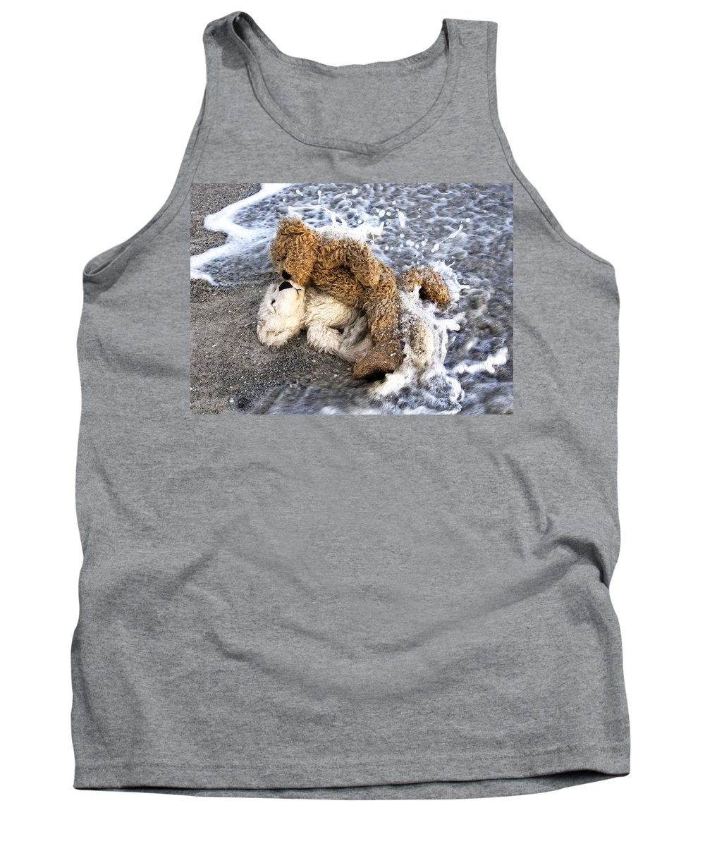 Bear Tank Top featuring the photograph From Bear To Eternity - By William Patrick And Sharon Cummings by Sharon Cummings