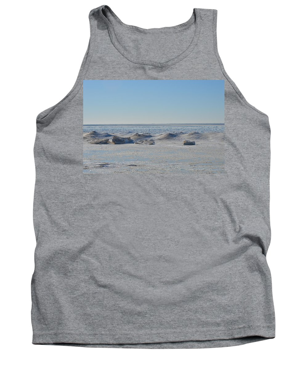 Frankfort Tank Top featuring the photograph Froze by Linda Kerkau