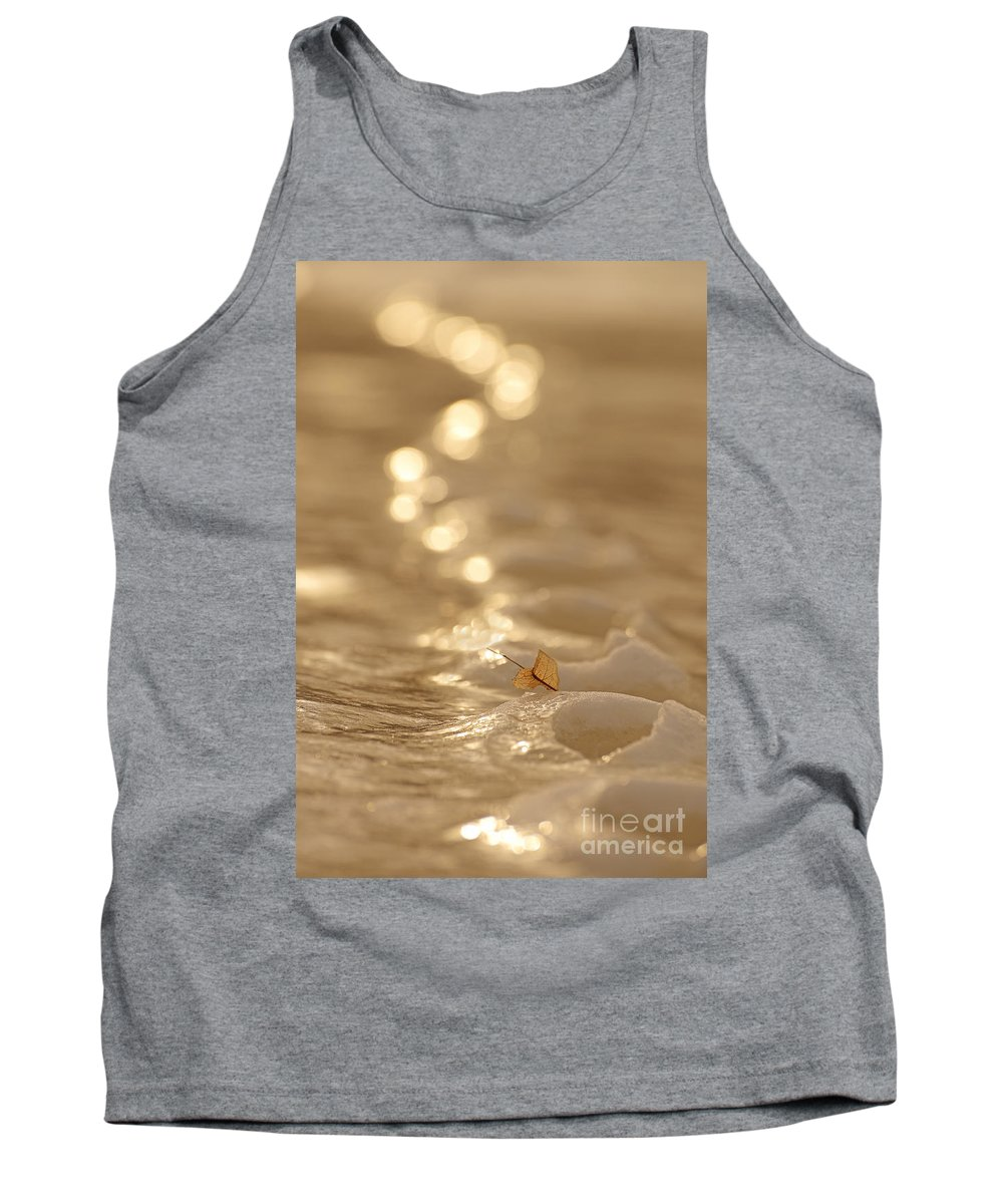Ottawa River Tank Top featuring the photograph Frozen Tracks by Joshua McCullough
