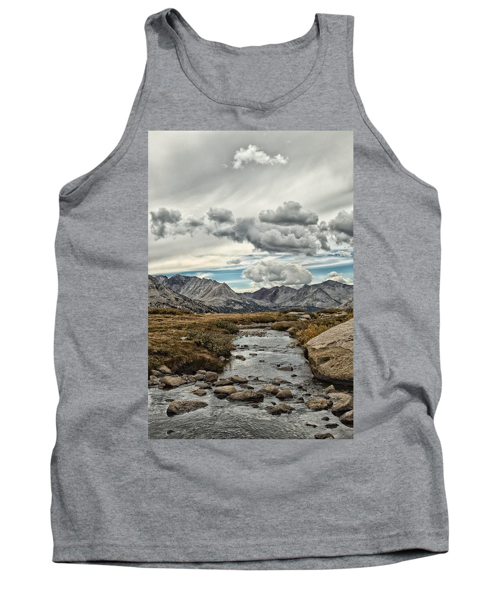 John Muir Trail Tank Top featuring the photograph Gathering Storm by Shauna Milton