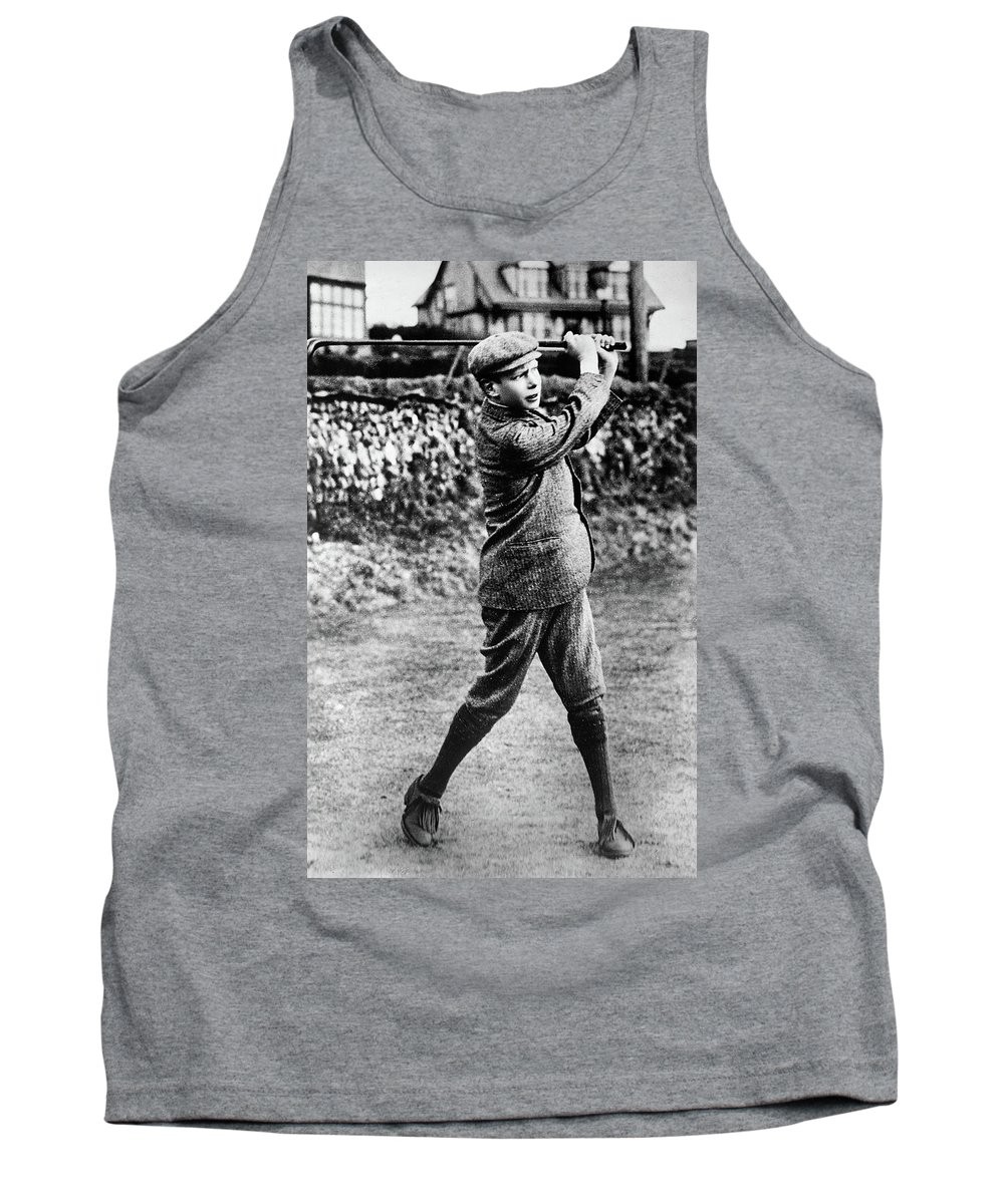 1910 Tank Top featuring the painting George Vi (1895-1952) by Granger