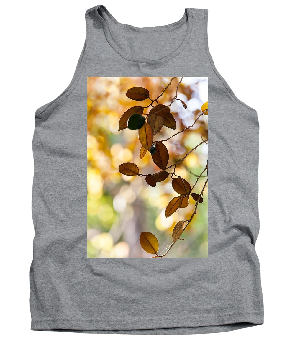 Jenny Rainbow Fine Art Photography Tank Top featuring the photograph Glorious Foliage. Tree In Pamplemousse Garden 1. Mauritus by Jenny Rainbow