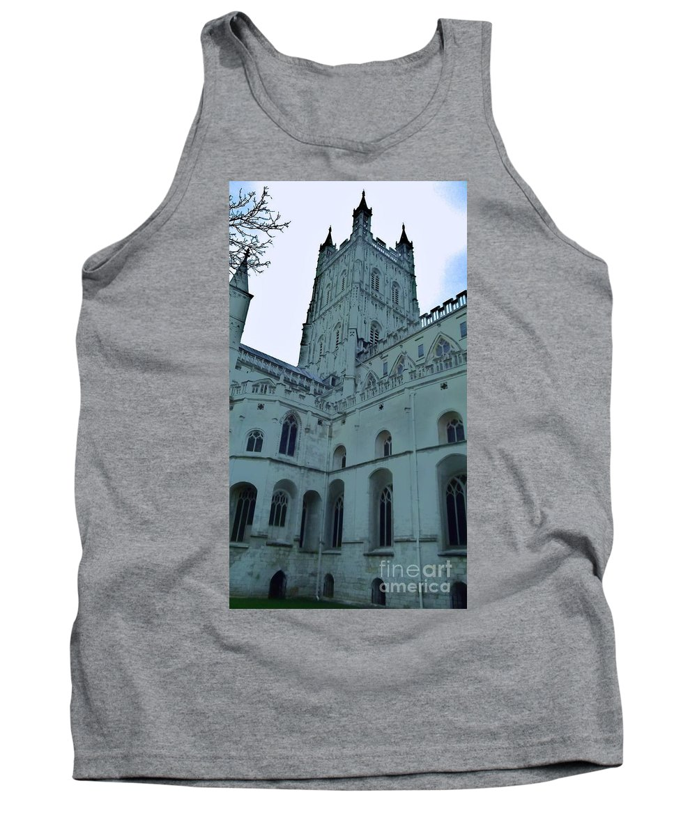 Gloucester Cathedral Tank Top featuring the photograph Gloucester Cathedral by John Williams