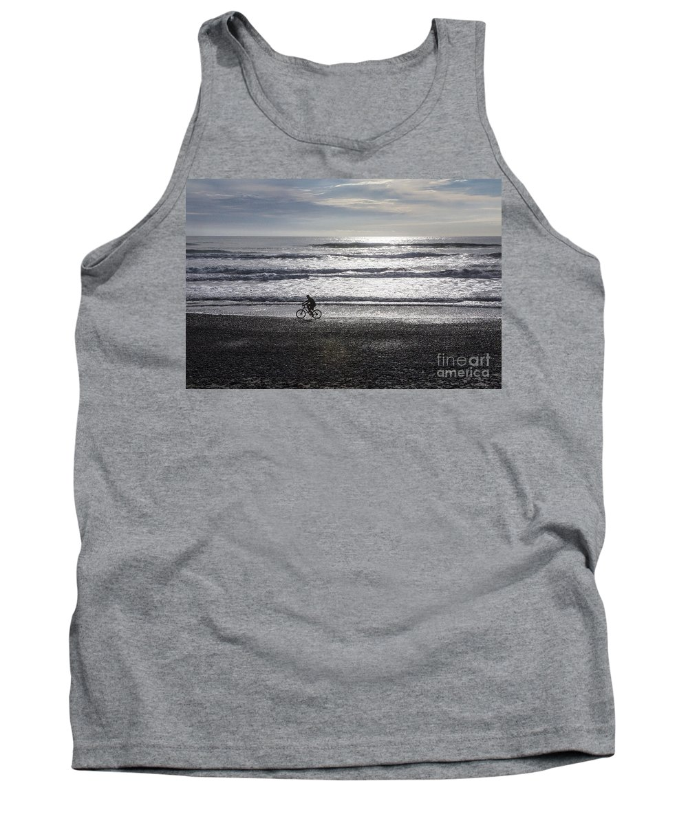 Bicycle Tank Top featuring the photograph Going home by Sheila Smart Fine Art Photography
