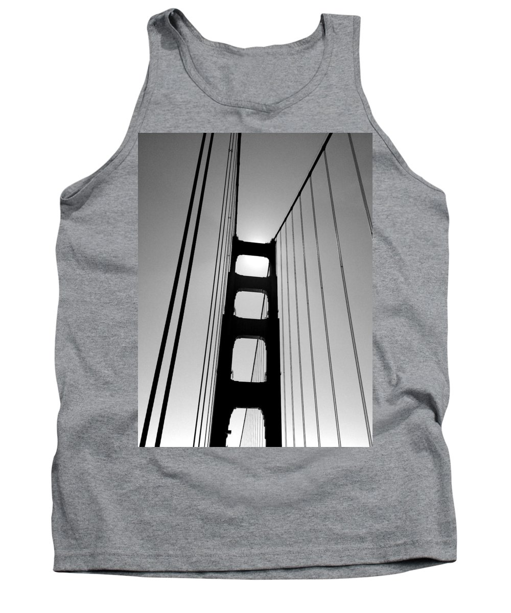 San Fransisco Tank Top featuring the photograph Golden Gate Bridge by Michele Monk