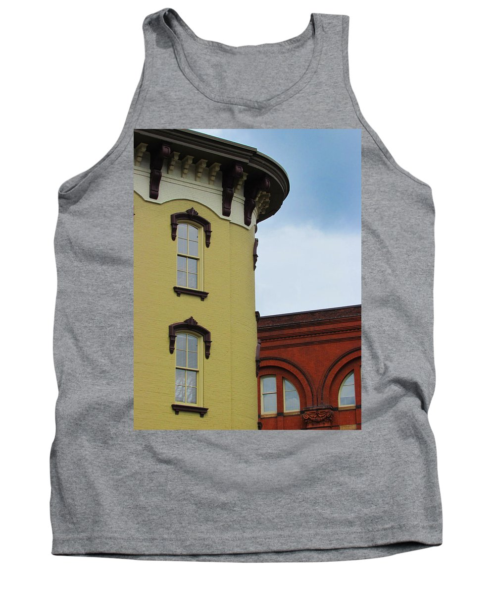 Grand Rapids Tank Top featuring the photograph Grand Rapids Downtown Architecture by David T Wilkinson