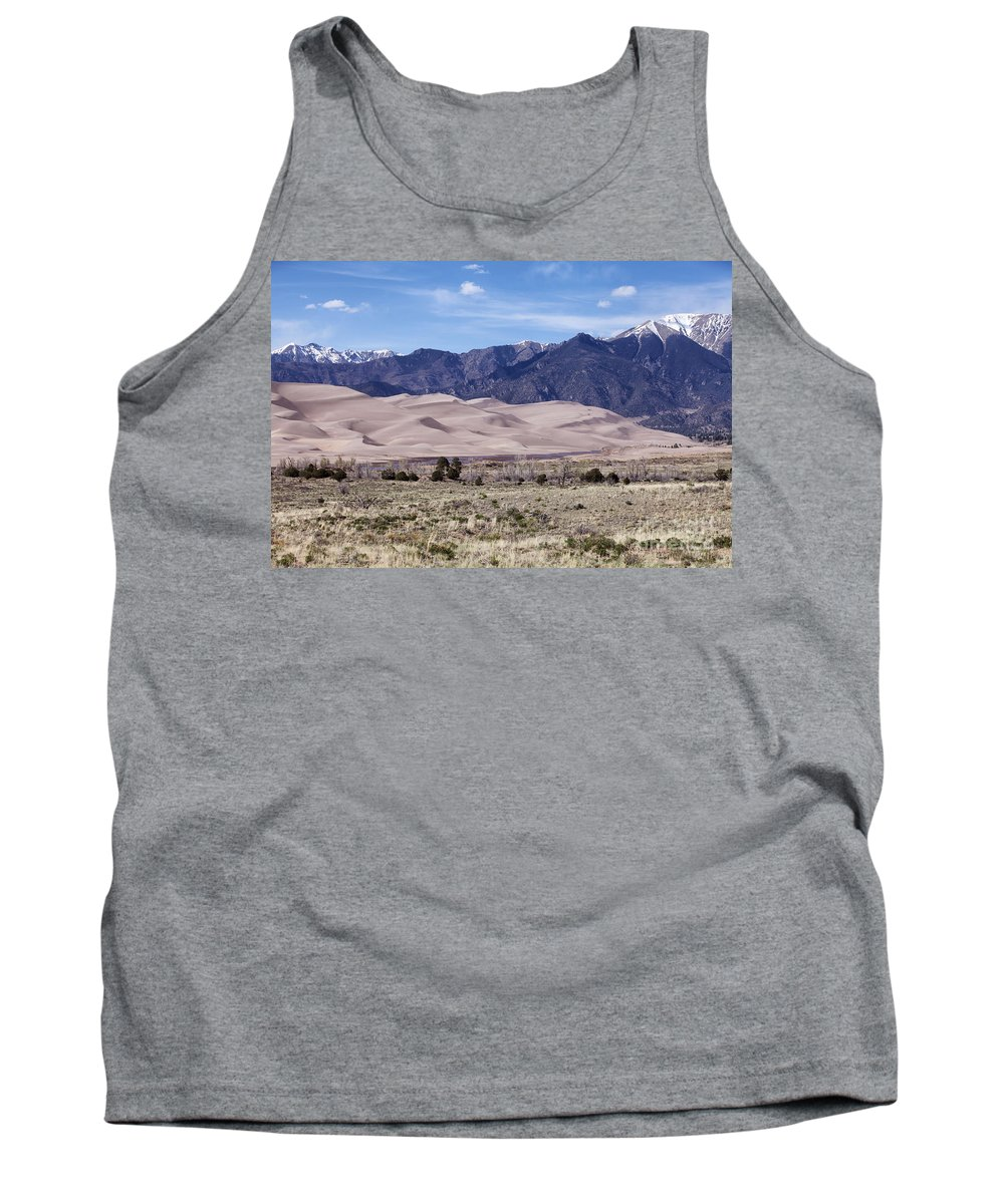 Great Sand Dunes National Park Tank Top featuring the photograph Great Sand Dunes by Erika Weber