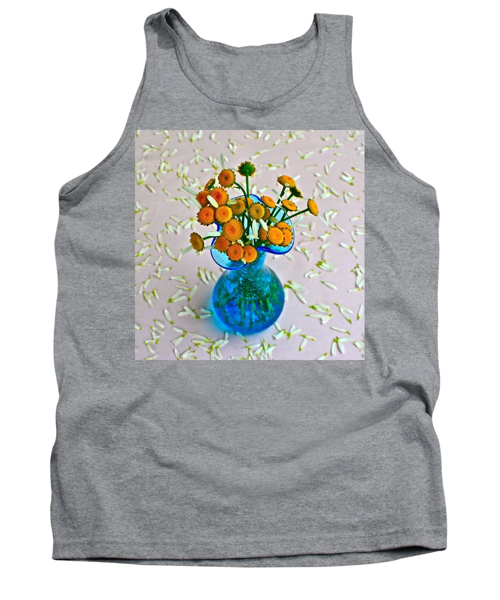 Flowers Tank Top featuring the photograph He Loves Me Bouquet by Frozen in Time Fine Art Photography