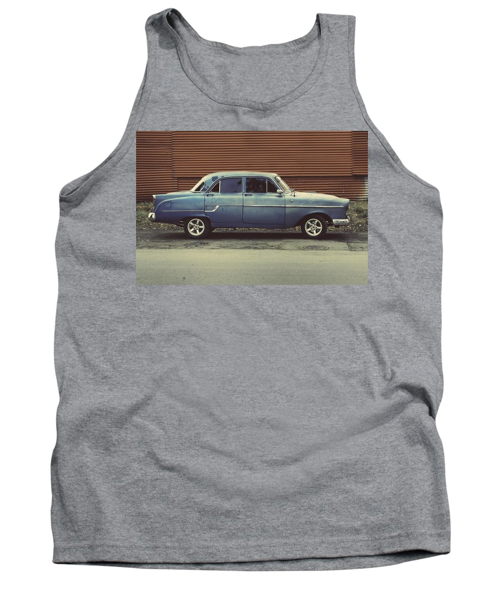 Habana Tank Top featuring the photograph Hey Champ.. by A Rey