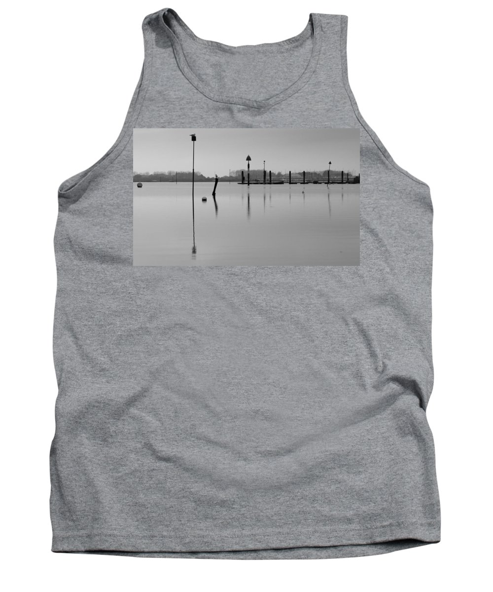 Emsworth Tank Top featuring the photograph High Tide Ripples by Robert Phelan