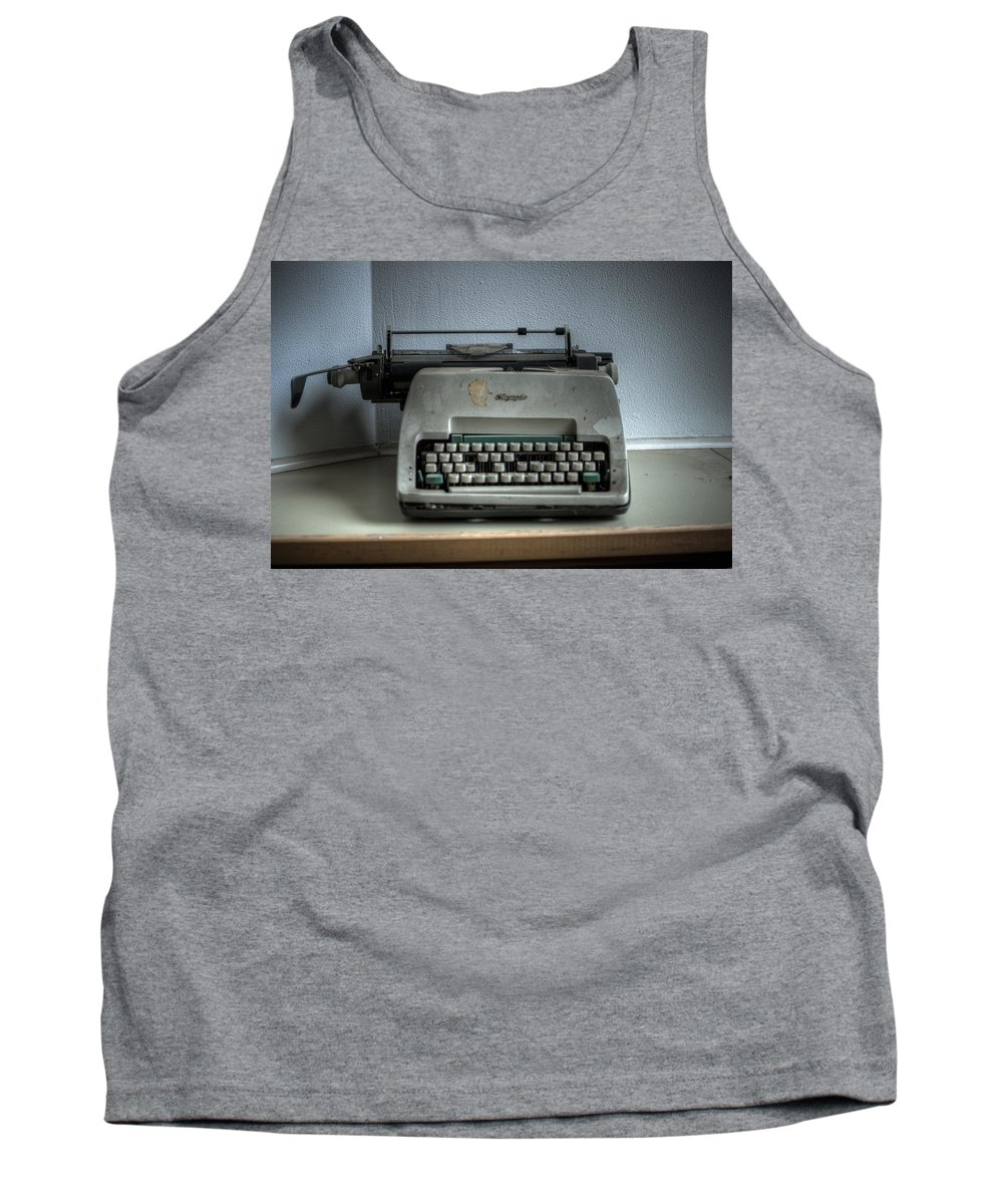 German Tank Top featuring the digital art Hospital Writer by Nathan Wright