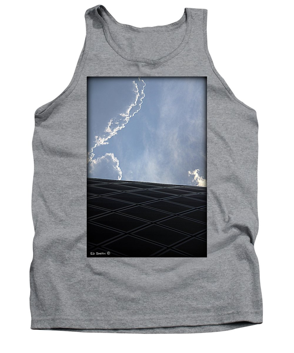 Huston Can You Hear Me Tank Top featuring the photograph Huston Can You Hear Me by Ed Smith