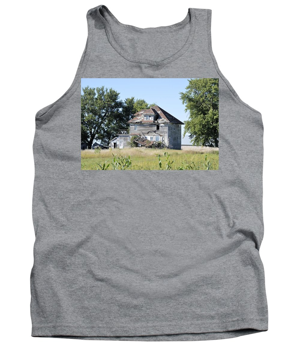 Pieces Tank Top featuring the photograph I Fall To Pieces by Bonfire Photography