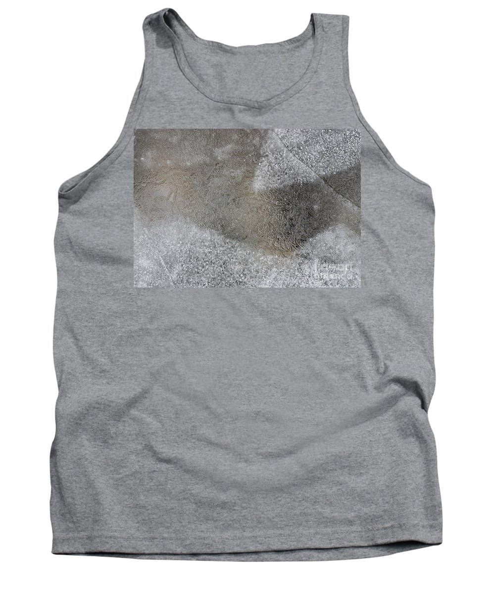 Ice Tank Top featuring the photograph Ice 7 by Steven Ralser