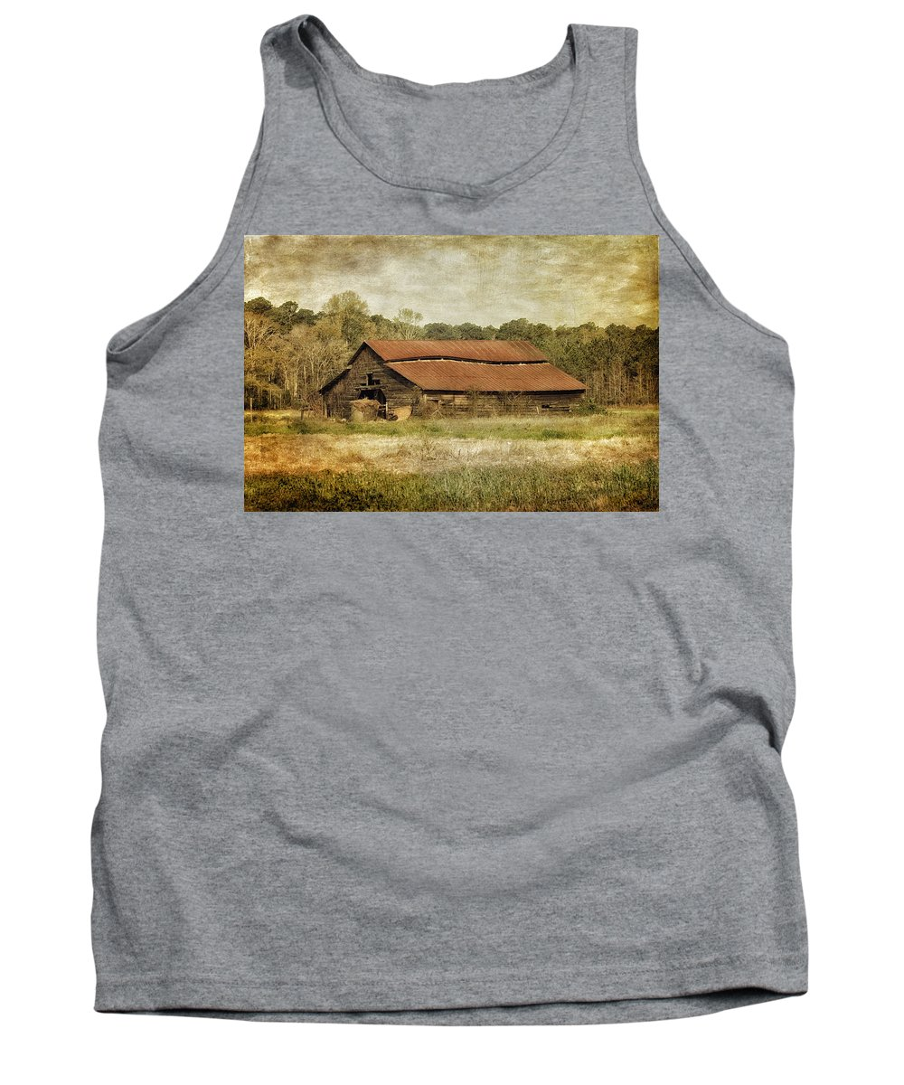 Barn Tank Top featuring the photograph In The Country by Kim Hojnacki