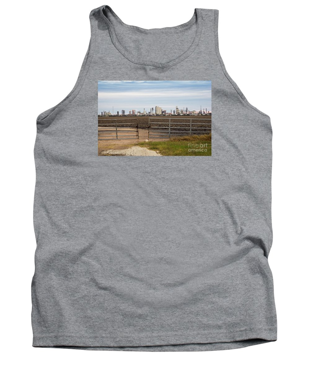 Industry Tank Top featuring the photograph Industry At Sunrise by Imagery by Charly