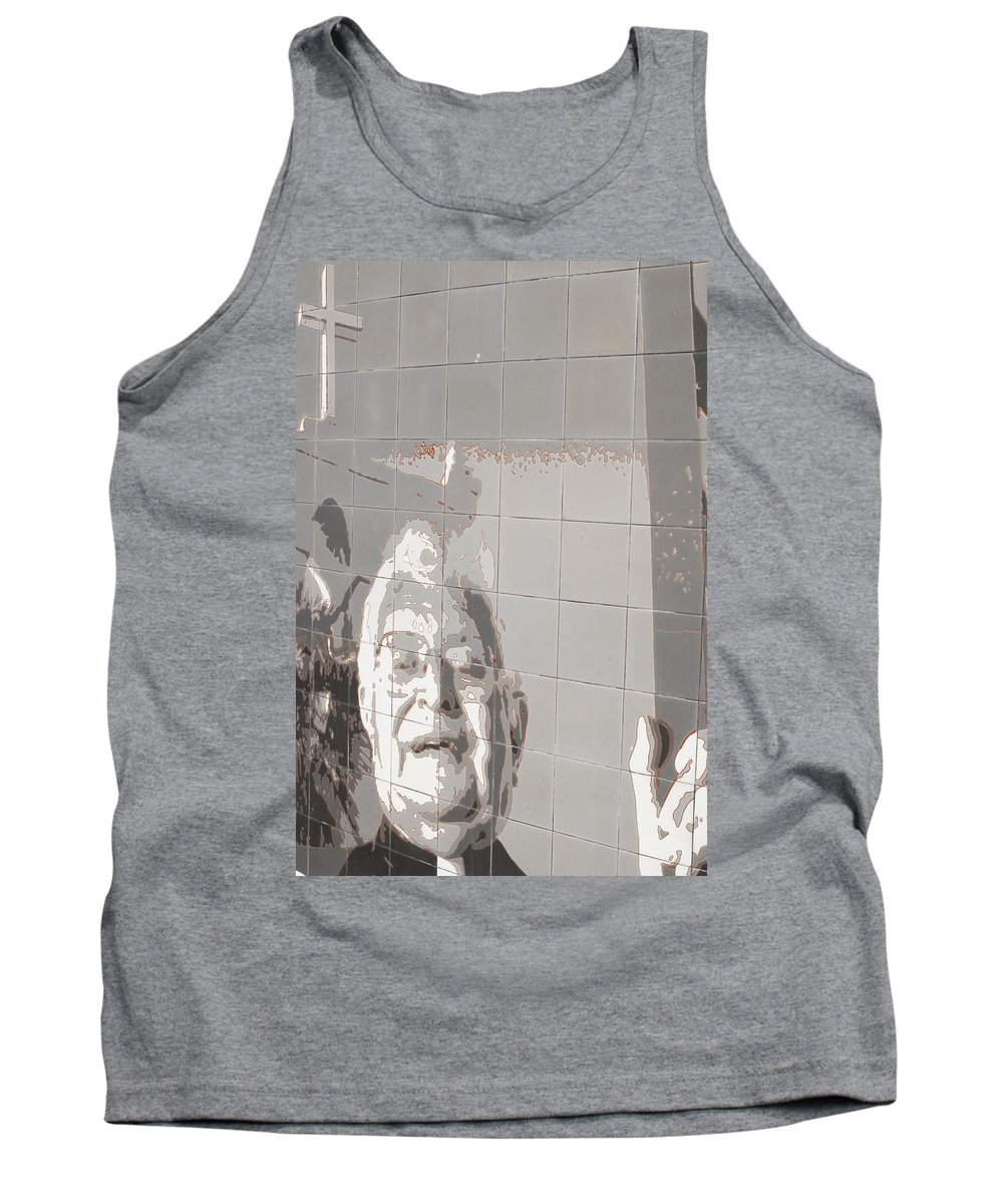 Interstate 10 Tank Top featuring the photograph Interstate 10 Project Outtake_0010553 by Arthur BRADford Klemmer