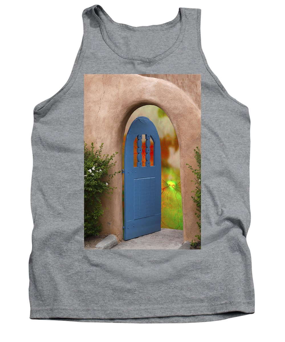 Santa Fe And Taos Tank Top featuring the photograph Intrepidation by Greg Wells