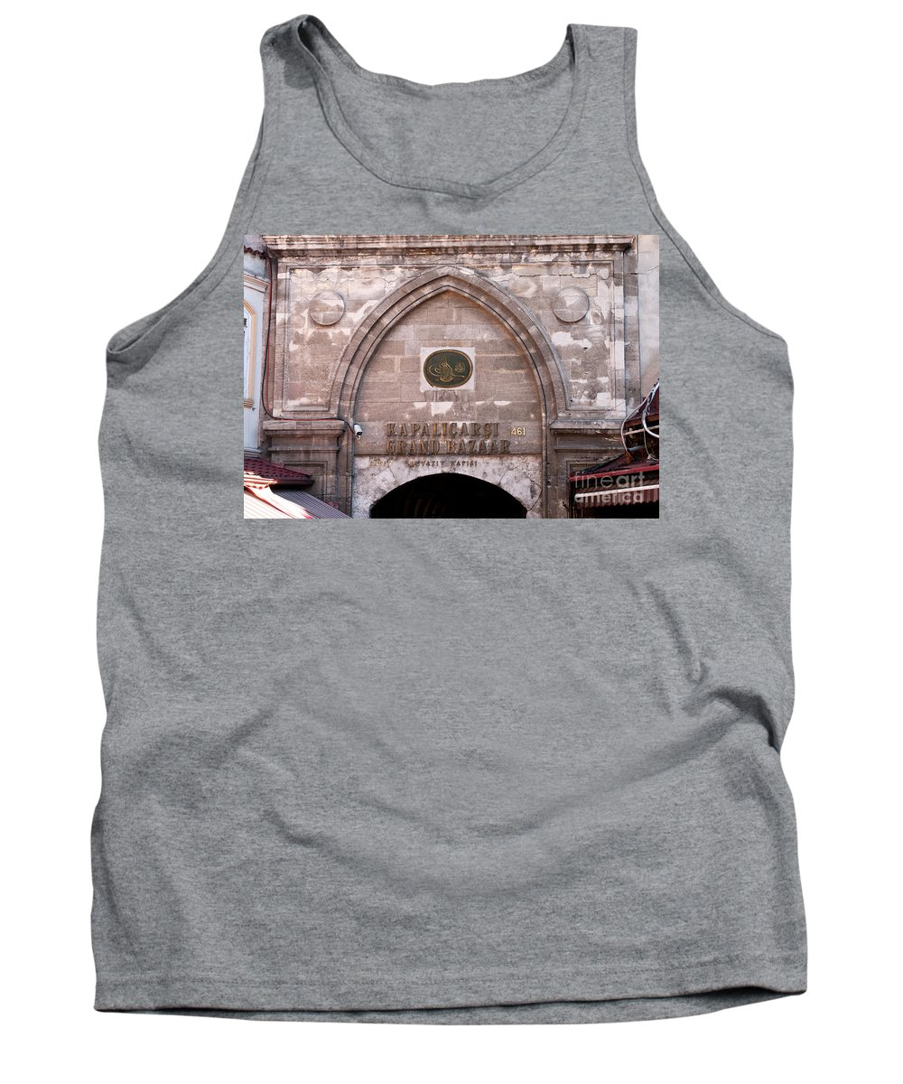 Istanbul Tank Top featuring the photograph Istanbul Grand Bazaar 03 by Rick Piper Photography