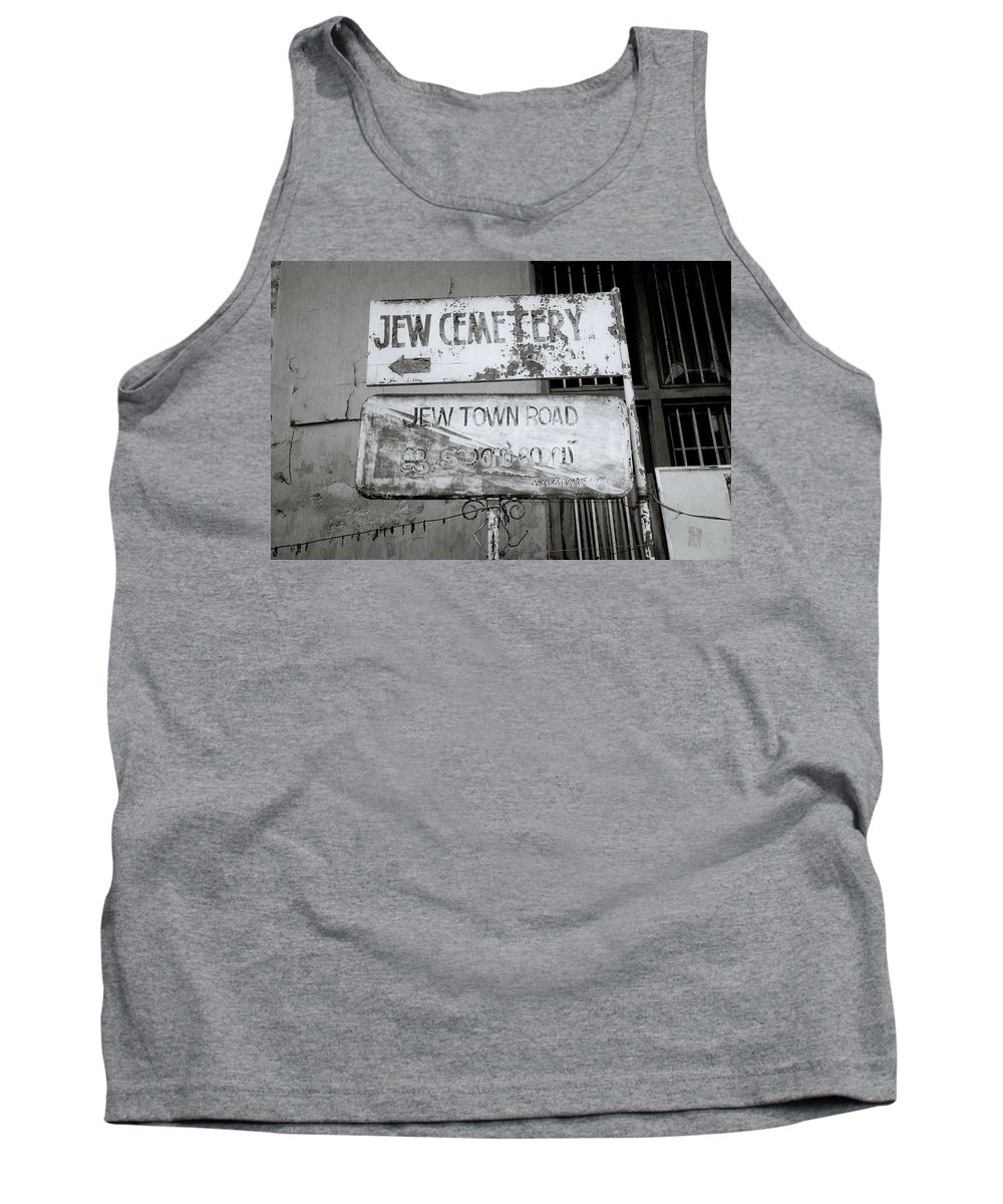 India Tank Top featuring the photograph Jew Town In Cochin by Shaun Higson