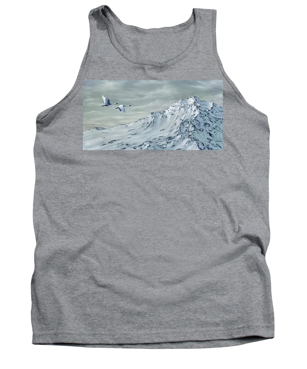 Animals Tank Top featuring the painting Journey by Rick Bainbridge