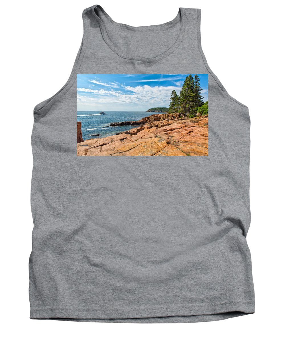 Landscape Tank Top featuring the photograph Journeys by John M Bailey