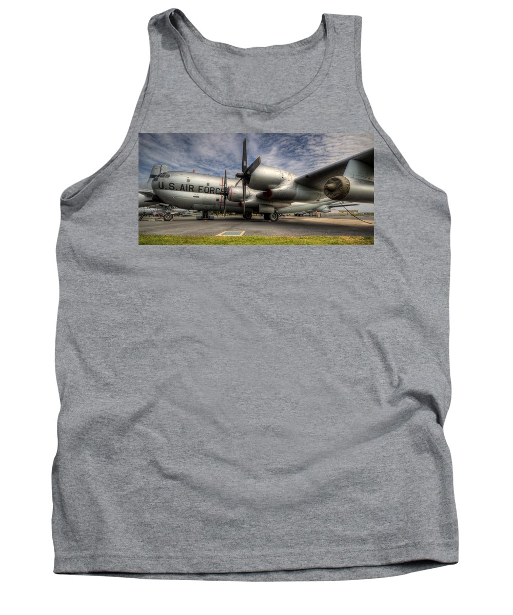 Boeing Tank Top featuring the photograph Kc-97 Tanker by David Dufresne