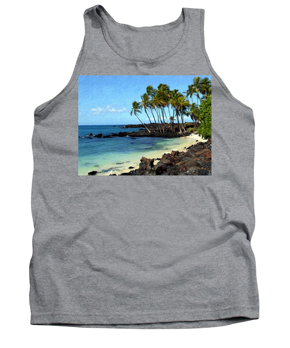 Hawaii Tank Top featuring the photograph Kekaha Kai II by Kurt Van Wagner