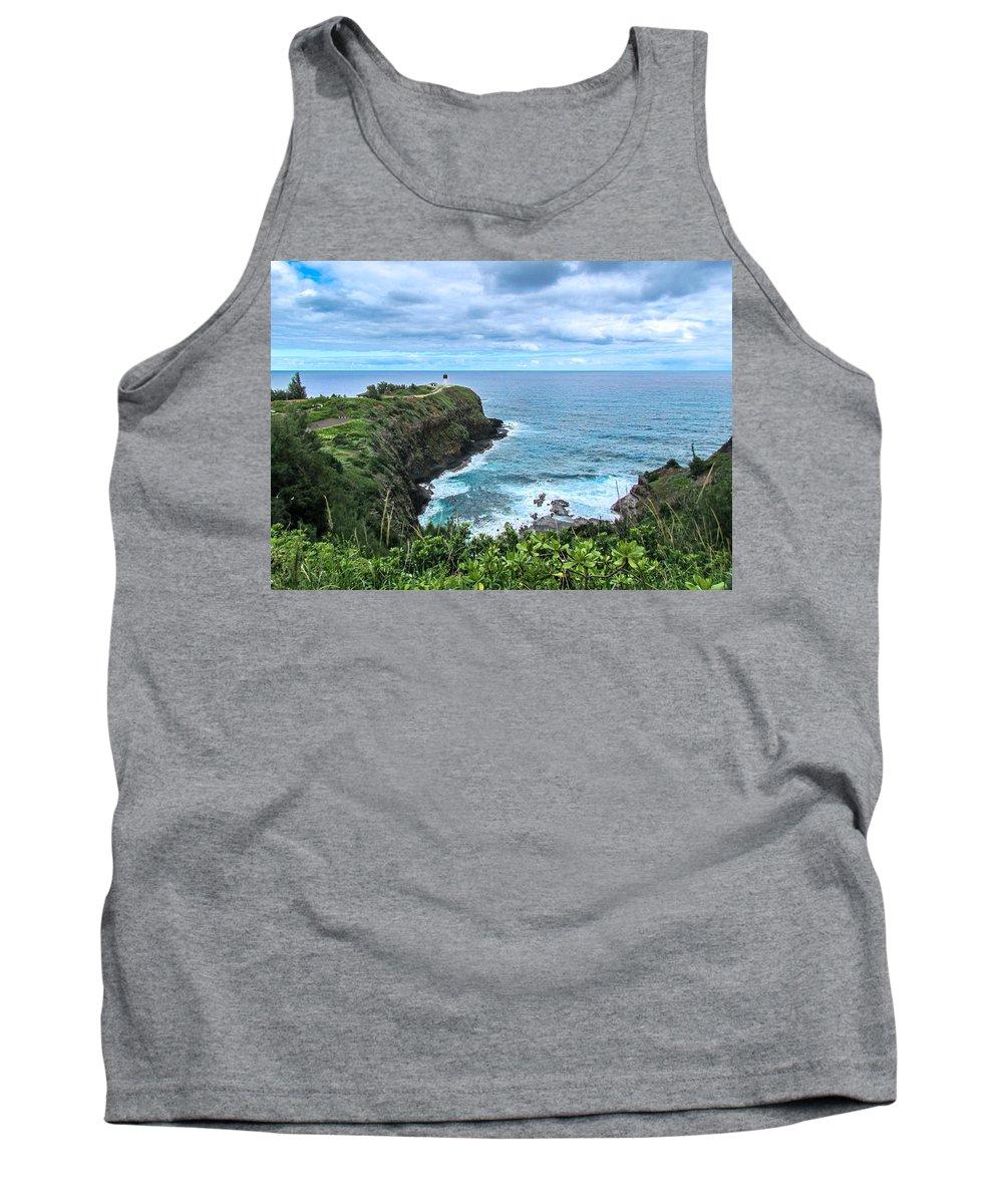 Hawaii Tank Top featuring the photograph Kilauea Lighthouse by Dawn Key