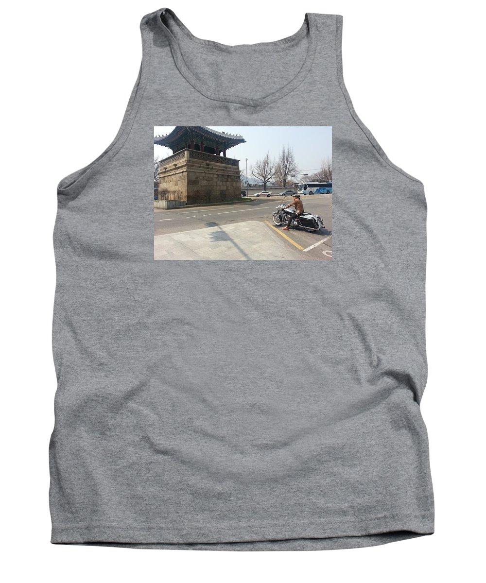 Korea Tank Top featuring the photograph Korea by FL collection