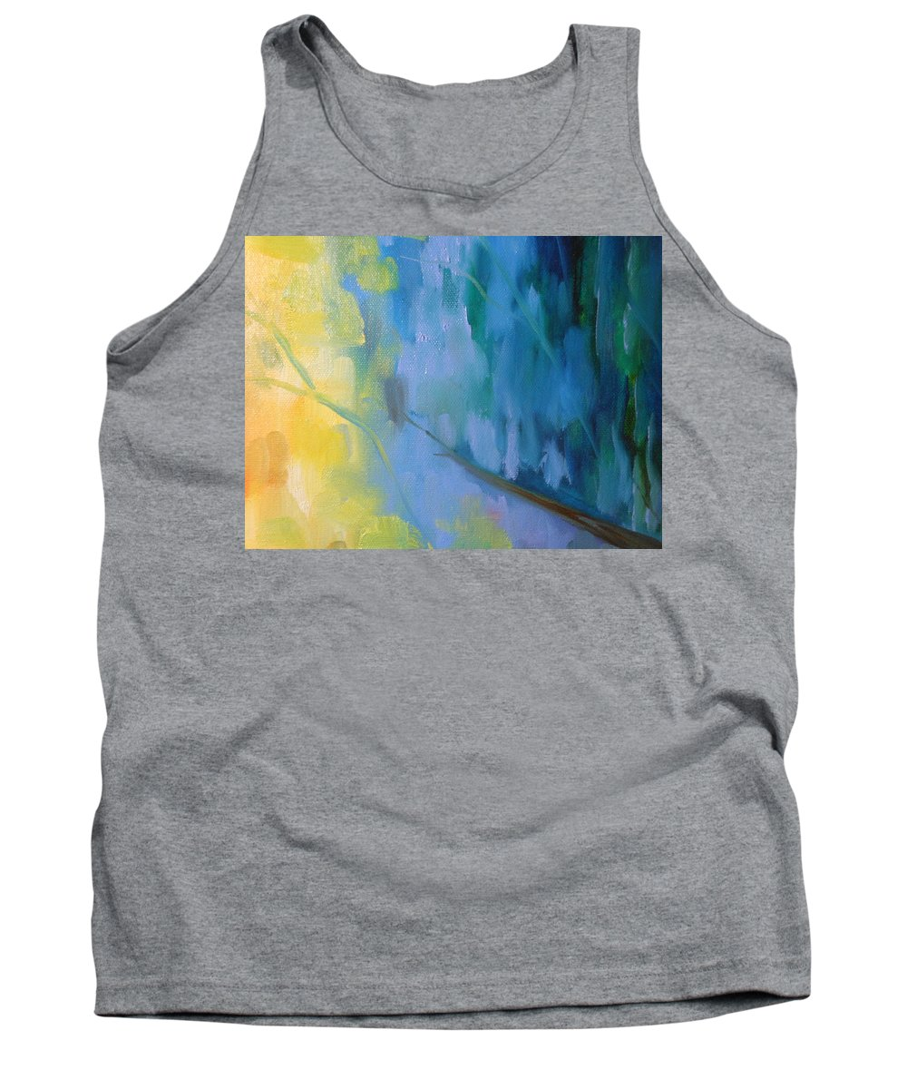 Water Tank Top featuring the painting Lake 2 by Lord Frederick Lyle Morris