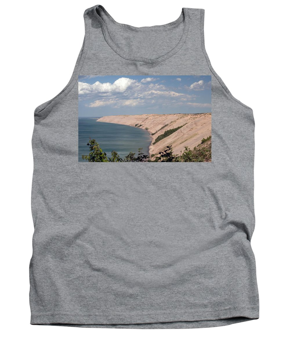 Lake Superior Tank Top featuring the photograph Lake Superior Dunes by Linda Kerkau